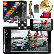 Double Din Car Stereo 6.2