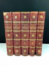 EMANCIPATION DE L'HOMME. 5 VOLUMES. (VOIR DESCRIP). S. SANPERE. EDIT. JAIME SEIX