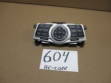 2009 - 2014 Maxima Radio Control Panel AC and Heater Control Used Stock #604-AC
