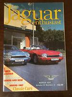 JAGUAR ENTHUSIAST Volume 13 Number 3 - March 1997