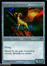 MTG - Journey into Nyx - Gold-Forged Sentinel - Foil - NM