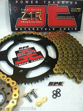 YAMAHA R6 '06/16 GOLD X-Ring Z1R QUICK ACCEL Racing CHAIN AND SPROCKETS KIT