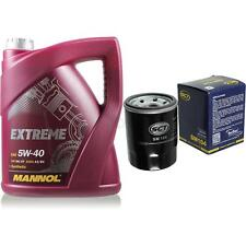 Cambio Aceite Kit 5L Mannol Extremo 5W-40 + Sct Filtro de Servicio 10164176