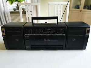 SONY CFS-W410L Ghettoblaster Boombox Radio Cassette Recorder AUX & Equalizer