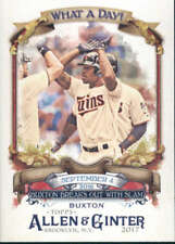 2017 Allen and Ginter What a Day! #WAD-95 Byron Buxton NM-MT Twins