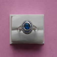 Unbranded Oval Sapphire Fine Rings