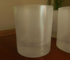 NEW! Set of 6 FROSTED JUICE GLASSES