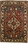 Muted Colors Handmade Vintage 7X10 Floral Design Oriental Rug Home Decor Carpet