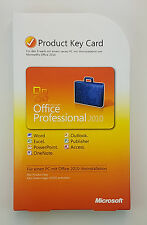 Office 2010 Professional Vollversion PKC OEM Deutsch 32/64 Bit Deutsch 269-14838