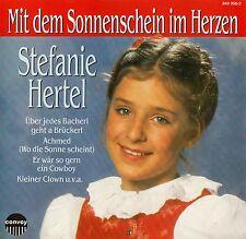 STEFANIE HERTEL : MIT DEM SONNENSCHEIN IM HERZEN / CD