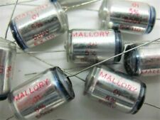 2X .01uF (103) @ 500V MALLORY SX SERIES (AUDIO FILM/FOIL) POLYSTYRENE CAPACITOR