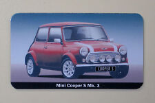 Mini Cooper S Mk. 3 (red) Fridge Magnet
