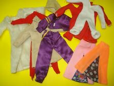 Vtg Hasbro CHARLIE'S ANGELS 70s Doll Clothes Lot 10pc