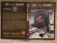 SOUTHERN PACIFIC ON THE D&RGW COLORADO UTAH RAILROAD VIDEO DVD