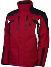 Spyder Men's Red Black Rival Jacket Size XL