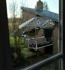 mangeoire oiseaux transparente