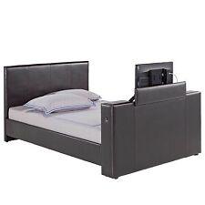 Faux Leather Modern Bed Frames & Divan Bases