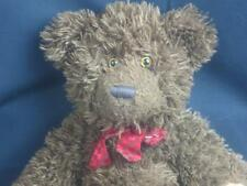 Adorable Shaggy Brown Russ Berrie Bombay Chocolate Teddy Bear Porter Plush