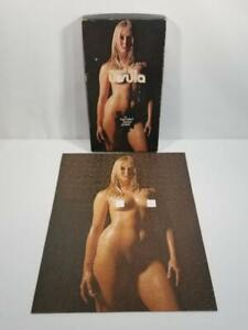 1971 Ursula Andress Two Sided Jigsaw Puzzle COMPLETE  FREE USA SHIP