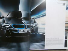 BMW i8 (i12) Coupe Prospekt  3/2015+Louis Vouitton Gepäckserie Brochure Catalogu