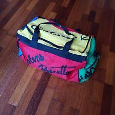 United Colours of Benetton Vintage Colour Blocked Duffel Bag 90s VTG