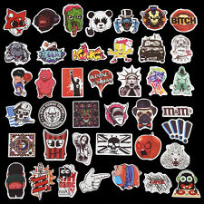 100Pcs Skateboard Vinyl Sticker Skate Graffiti Laptop Luggage Car Bomb Decal YK