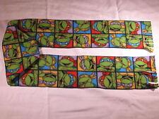 TMNT Ninja Turtles in squares Fleece Scarf