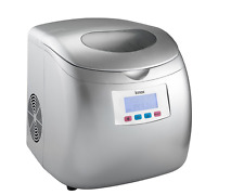 Knox Portable Compact Ice Maker w/LCD Display (Silver) - 2.8-Liter Water Reservo