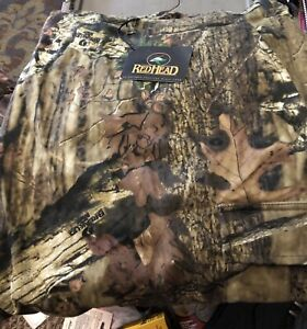 2- Pair of Redhead Mossy Oak breakup  6XT Camo Hunting Big Tall Cargo Pants. New