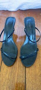 Tony Bianco Strappy Midi Heels Size 7.5