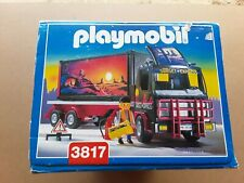 1995 Playmobil vintage,3817,camion trailer articulado