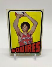 1972-73 Topps Julius Erving Rookie Card #195