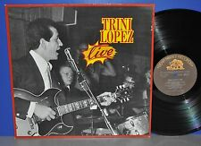 Trini Lopez - live D Bear Family VG++ ! plays perfect Vinyl LP clean sauber