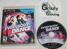 USED Everybody Dance Sony PlayStation 3 PS3 (NTSC) Canadian Seller!!