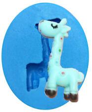 Giraffe Mini Silicone Mold for Fondant, Gum Paste, Chocolate, Crafts NEW