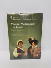 NEW The Great Courses * Museum Masterpieces : The Louvre * DVD & Coursebook