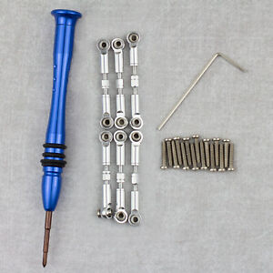 Metal Adjustable Pull Tie Rods for WLtoys - A949 A959B A969 A979 K929 (A949-03)