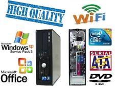 Quality Dell Windows XP Pro Desktop PC Computer Core 2 vPro 4Gb 250Gb DVD WiFi