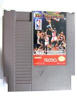 Tecmo NBA Basketball - Authentic Nintendo NES Game Tested + Working!