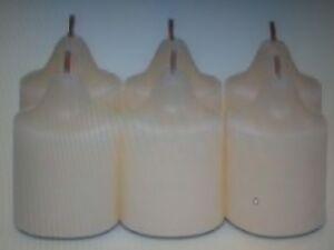 RARE * PLUS AU CATALOGUE *:Boite de 6 Lampions Partylite Vanille et Citron