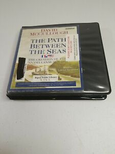 THE PATH BETWEEN THE SEAS - David McCullough 8 DISC CD Audiobook