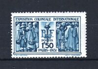 "FRANCE STAMP TIMBRE N° 274 "" EXPOSITION COLONIALE PARIS 1F50 "" NEUF xx LUXE T015"