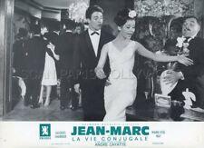 MARIE -JOSE NAT JACQUES CHARRIER LA VIE CONJUGALE 1964 LOBBY CARD ORIGINAL #4