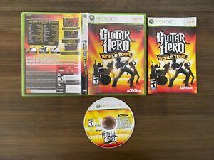 Guitar Hero: World Tour (Microsoft Xbox 360 X360) [Complete In Box]