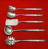 Danish Baroque by Towle Sterling Silver Hostess Set 5pc HHWS  Custom Made