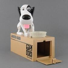 Electronic doggy coin bank ,Plastic Robotic Dog Bank Canine M oney Box
