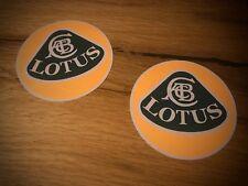 2x Autocollant Lotus Exige Elise Evora Super 7 Seven Oldtimer Course Retro #045