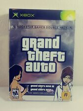 New listing Grand Theft Auto Double Pack Xbox Complete Tested Excellent Gta Iii Vice City