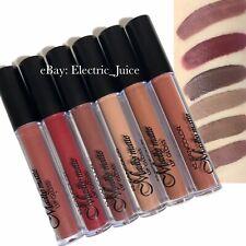 Kleancolor Madly Matte Brown Set Liquid Lipsticks Lip Color 6 Pieces Makeup