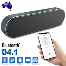 Portable Wireless Bluetooth Stereo Music Speaker AUX for Apple iPhone 8 Samsung